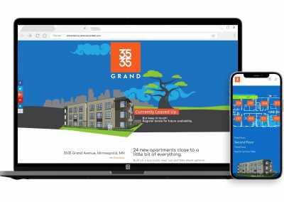Property Lease Up Website