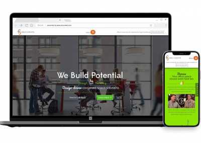 Commercial Space Design Sales Website