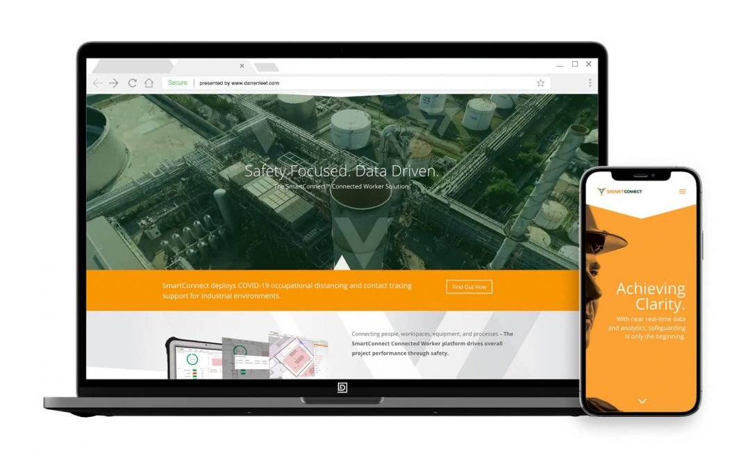 Emerging Technology Website – SmartConnect Connected Worker Solution