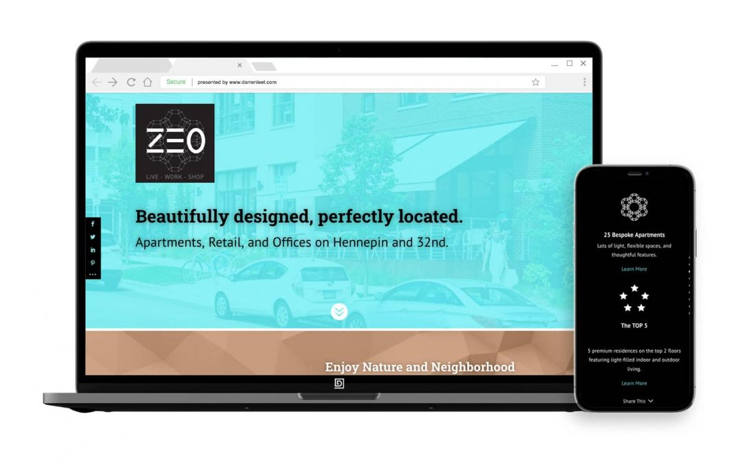 Real Estate Leasing and Sales Website