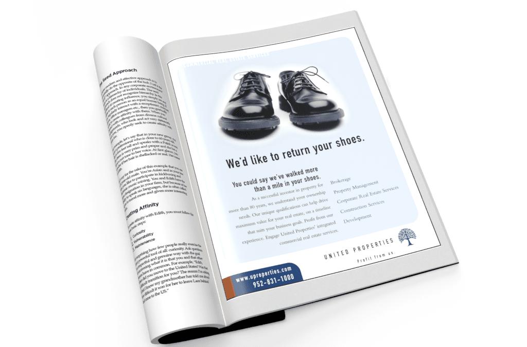 Real Estate Magazine Ad Design